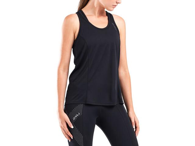 2XU GHST Singlet Shirt Women black/black reflective